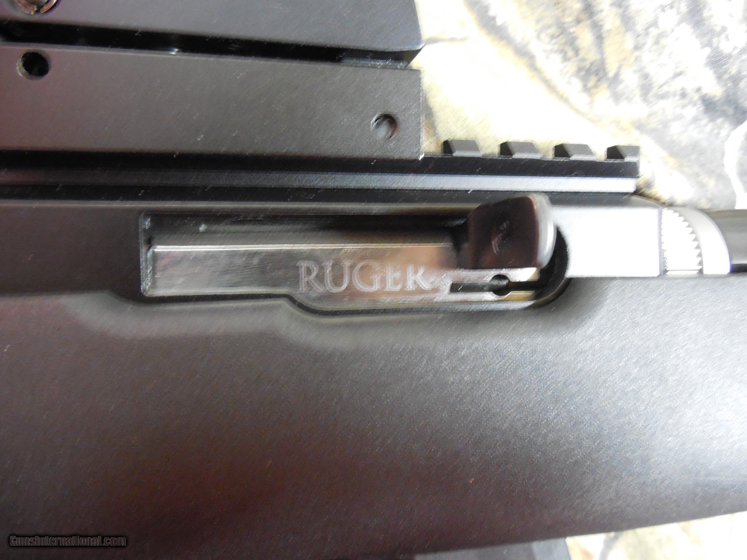Ruger Charger Tackdown 22 Lr With Redgreen Scope 15 Round