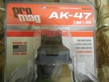 AK-4750ROUNDDRUM,PRO MAG MAGAZINE,AK-47,7.62X39,50- ROUNDDRUMBLACKPOLYMER,FACTORYNEWINBOX, - 2 of 18