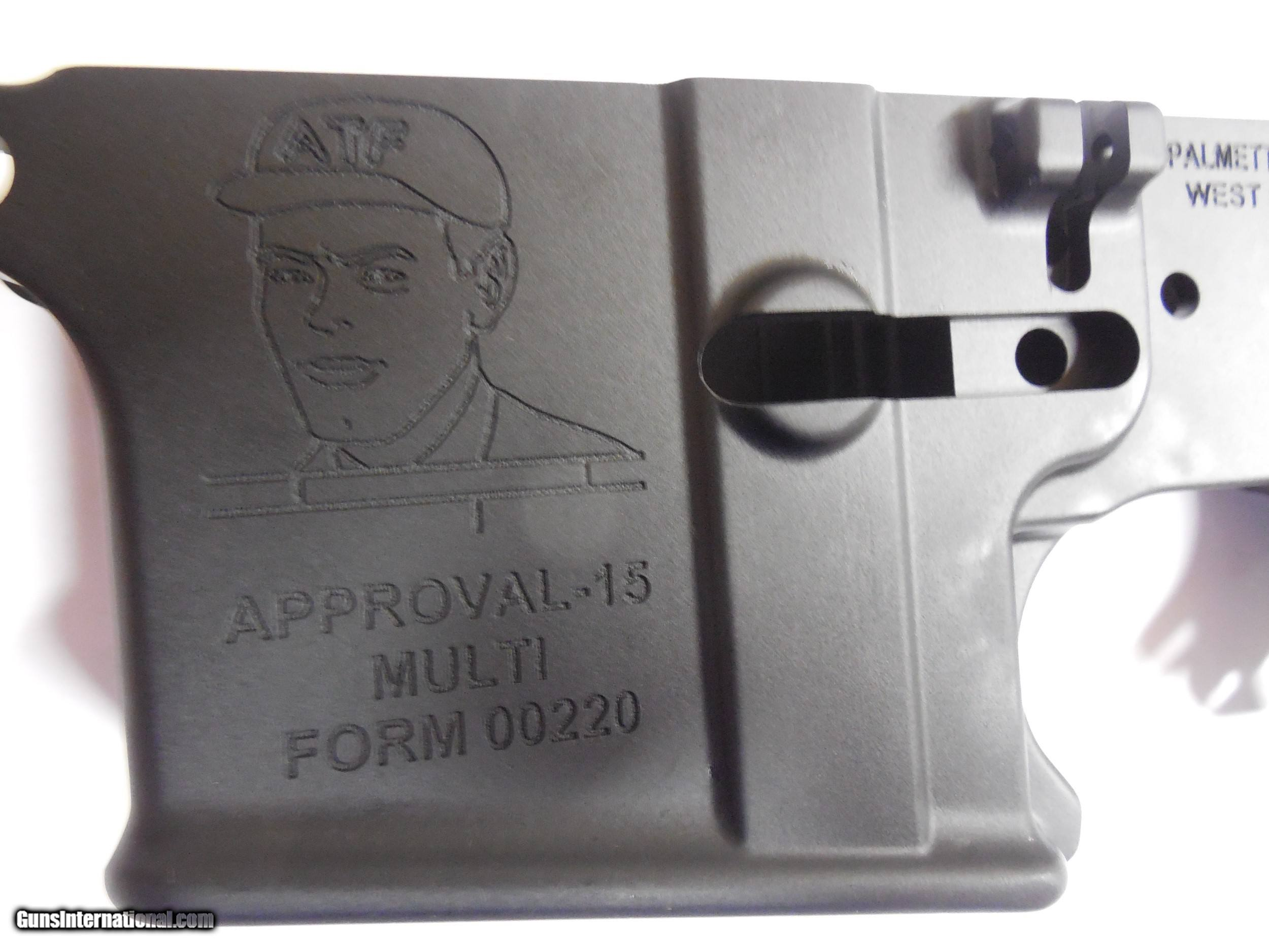AR-15 LOWER RECEIVER, MULTI CAL  A  T  F , PSA AR-15