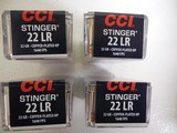 CCIAMMOSTINGER.22 L.R. 1,640 F. P. S.MuzzleEnergy: 191 ft lbs.32 GR. J.H.P. 50-PACK,FACTORYNEWINBOX...( THE BEST ) - 2 of 21