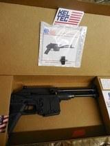 "KEL-TECP.L.R.5.56NATOPISTOL,Semi- Automatic223 Remington /5.56 NATO, 9.2"" BARREL.10+1 RD. MAGAZINE,AmbidextrousSALTEY,Black"