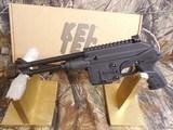 "KEL-TECP.L.R.5.56NATOPISTOL,Semi- Automatic223 Remington /5.56 NATO, 9.2"" BARREL.10+1 RD. MAGAZINE,AmbidextrousSALTEY,Black - 6 of 24"