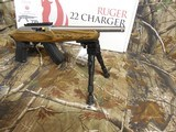 RUGERCHARGER,TALO,STAINLESSSTEEL, 22 L.R., 15ROUNDMAGAZINE,BI-PODAVAILABLE,FACTORYNEWINBOX - 6 of 21