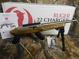 RUGERCHARGER,TALO,STAINLESSSTEEL, 22 L.R., 15ROUNDMAGAZINE,BI-PODAVAILABLE,FACTORYNEWINBOX - 3 of 21