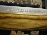 RUGERCHARGER,TALO,STAINLESSSTEEL, 22 L.R., 15ROUNDMAGAZINE,BI-PODAVAILABLE,FACTORYNEWINBOX - 9 of 21