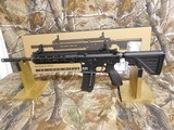 "H&K # 81000401,HK 416 Semi-Automatic22 L.R.Semi-Automatic,22 Long Rifle, 16.1""BARREL,20+1 ROUND MAG,Retractable Black Stk Black - 4 of 26"