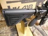 "H&K # 81000401,HK 416 Semi-Automatic22 L.R.Semi-Automatic,22 Long Rifle, 16.1""BARREL,20+1 ROUND MAG,Retractable Black Stk Black - 10 of 26"