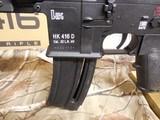 "H&K # 81000401,HK 416 Semi-Automatic22 L.R.Semi-Automatic,22 Long Rifle, 16.1""BARREL,20+1 ROUND MAG,Retractable Black Stk Black - 5 of 26"