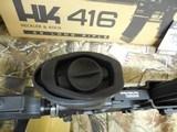 "H&K # 81000401,HK 416 Semi-Automatic22 L.R.Semi-Automatic,22 Long Rifle, 16.1""BARREL,20+1 ROUND MAG,Retractable Black Stk Black - 14 of 26"