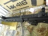 "H&K # 81000401,HK 416 Semi-Automatic22 L.R.Semi-Automatic,22 Long Rifle, 16.1""BARREL,20+1 ROUND MAG,Retractable Black Stk Black - 6 of 26"