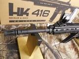 "H&K # 81000401,HK 416 Semi-Automatic22 L.R.Semi-Automatic,22 Long Rifle, 16.1""BARREL,20+1 ROUND MAG,Retractable Black Stk Black - 7 of 26"