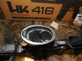 "H&K # 81000401,HK 416 Semi-Automatic22 L.R.Semi-Automatic,22 Long Rifle, 16.1""BARREL,20+1 ROUND MAG,Retractable Black Stk Black - 15 of 26"