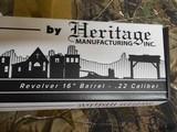 "Heritage,RR22B16, RoughRider,SmallBoreRevolver,Single Action,22LongRifle(LR),16""BARREL,6 Rd CocoboloGrip B - 6 of 18"