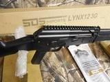 "AK-47SDS INPORTS LH12HF3GLYNXSEMIAUTO 12 GA 3""SHELLS, TOPRAIL,1- 5 ROUNDMAGAZINE, & 1 FREE 10ROUNDMAGAZINEFACTORYNEWINBOX - 2 of 18"