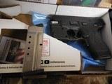 "Smith & Wesson, M&P 40 Shield M2.0, GREEN LASER & LIGHT, 40 S&W,3.1"" Barrel, 6+1 & 7+1 RD. MAGAZINES,Black Armornite Stainless Steel Slid, NE - 2 of 19"