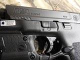 "Smith & Wesson, M&P 40 Shield M2.0, GREEN LASER & LIGHT, 40 S&W,3.1"" Barrel, 6+1 & 7+1 RD. MAGAZINES,Black Armornite Stainless Steel Slid, NE - 6 of 19"