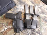 SPRINGFIELD,9-MM, GEAR-UP PACKAGES,GUN, 5-MAGAZINES, HOLSTER, DOUBLE MAGAZINE HOLDER, RANGE BAG, HARD PLASTIC CASE. FACTORY NEW IN BOX!!!!!!!!!!! - 20 of 25