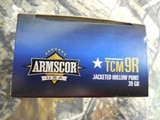 ARMSCOR,22TCM9RAMMO,39 GR, J.H.P. 500 ROUND BOX,BRASSCASES,(NOT THE SAME AS 22TCM)2,000 F.P.S.ALL NEW IN BOX - 11 of 22