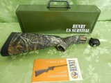 """Henry H002C U.S. Survival AR-7 Semi-Automatic 22 LR 16.5"""" TWO8+1 Fixed Stock Steel Receiver with overall TrueTimber Kanati Finish,NEW IN BOX"""