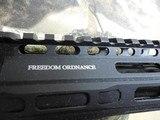 "FreedomOrdnance, FX-9Pistol,ARPistolSemi- Automatic,9-MM Luger,8.25"" BARREL,1- 33+1 ROUND MAGAZINE,Polymer Black Hardcoat Anodi - 10 of 25"