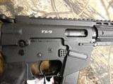 "FreedomOrdnance, FX-9Pistol,ARPistolSemi- Automatic,9-MM Luger,8.25"" BARREL,1- 33+1 ROUND MAGAZINE,Polymer Black Hardcoat Anodi - 9 of 25"