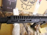"FreedomOrdnance, FX-9Pistol,ARPistolSemi- Automatic,9-MM Luger,8.25"" BARREL,1- 33+1 ROUND MAGAZINE,Polymer Black Hardcoat Anodi - 6 of 25"