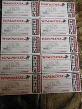 WINCHESTER,350LEGENO145GRAIN,F.M.J.,VERYGOODFORTARGETSHOOTING,2250F.P.S.ENERGY1630LBS.