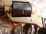 "Ruger2004WranglerRevolver,22 LR.4.62"" BARREL,6RoundBlackCheckeredGrip,BurntBronzeCerakote, FACTORYNEWNIBOX.. - 7 of 21"