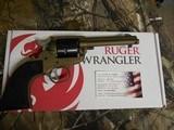 "Ruger2004WranglerRevolver,22 LR.4.62"" BARREL,6RoundBlackCheckeredGrip,BurntBronzeCerakote, FACTORYNEWNIBOX.. - 15 of 21"