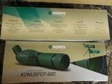 SPOTTINGSCOPE,20-60x60-M M,WITHTABLETOPTRIPOD,Includestripod,carry / storagecase,&lenscaps.ALLFACTORYNEWINBOX - 5 of 20