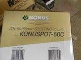 SPOTTINGSCOPE,20-60x60-M M,WITHTABLETOPTRIPOD,Includestripod,carry / storagecase,&lenscaps.ALLFACTORYNEWINBOX - 14 of 20