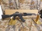 AK-47RILEYDEFENSERAK - 47,7.62X39,30 + 1ROUNDMAGAZINE,MATTE/POLYMER,ADJUSTABLESIGHTS,MADEINTHEU.S.A.FACTORYNEW IN BOX - 2 of 17