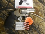"""COLTCOBRA 38 SPL. +P,Revolver,SINGLE /DOUBLEACTION,2"""" BARREL,6 ROUNDS,Black Hogue Rubber Grip,Stainless Steel,NEW IN BOX - 3 of 20"""