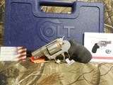 """COLTCOBRA 38 SPL. +P,Revolver,SINGLE /DOUBLEACTION,2"""" BARREL,6 ROUNDS,Black Hogue Rubber Grip,Stainless Steel,NEW IN BOX - 12 of 20"""