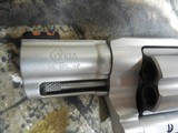 """COLTCOBRA 38 SPL. +P,Revolver,SINGLE /DOUBLEACTION,2"""" BARREL,6 ROUNDS,Black Hogue Rubber Grip,Stainless Steel,NEW IN BOX - 5 of 20"""