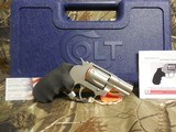 """COLTCOBRA 38 SPL. +P,Revolver,SINGLE /DOUBLEACTION,2"""" BARREL,6 ROUNDS,Black Hogue Rubber Grip,Stainless Steel,NEW IN BOX - 13 of 20"""