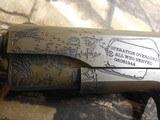 "AUTOORDNANCE,1911 The General 45 ACP Single 5"" 7+1 Black Army Eagle Engraved Grip Patriot Brown Cerakote Steel Slide FACTORY NEW IN BOX - 10 of 26"