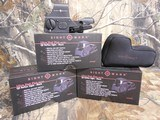 SCOPE, SightmarkONESTEP EASYONOFF, UltraShotPlus 1x 33x24mmDualIlluminatedRed / Green 4 Pattern CR123A Battery,Lithium Black Matte - 1 of 19