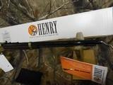 """Henry H004, Golden Boy Lever 22 Short/Long/Long Rifle, 20"""" BARREL, 16 LR / 21 Short,American Walnut, StkBrassReceiver / Blued Barrel, NEW I - 6 of 19"""