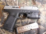 """Smith & Wesson 13050 SD9 VE Crimson Trace Rail Master 9mm Luger 4"""" 16+1 Black Stainless Steel Black Textured Polymer Grip - 5 of 24"""