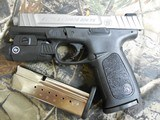 """Smith & Wesson 13050 SD9 VE Crimson Trace Rail Master 9mm Luger 4"""" 16+1 Black Stainless Steel Black Textured Polymer Grip - 6 of 24"""
