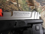 """Smith & Wesson 13050 SD9 VE Crimson Trace Rail Master 9mm Luger 4"""" 16+1 Black Stainless Steel Black Textured Polymer Grip - 16 of 24"""