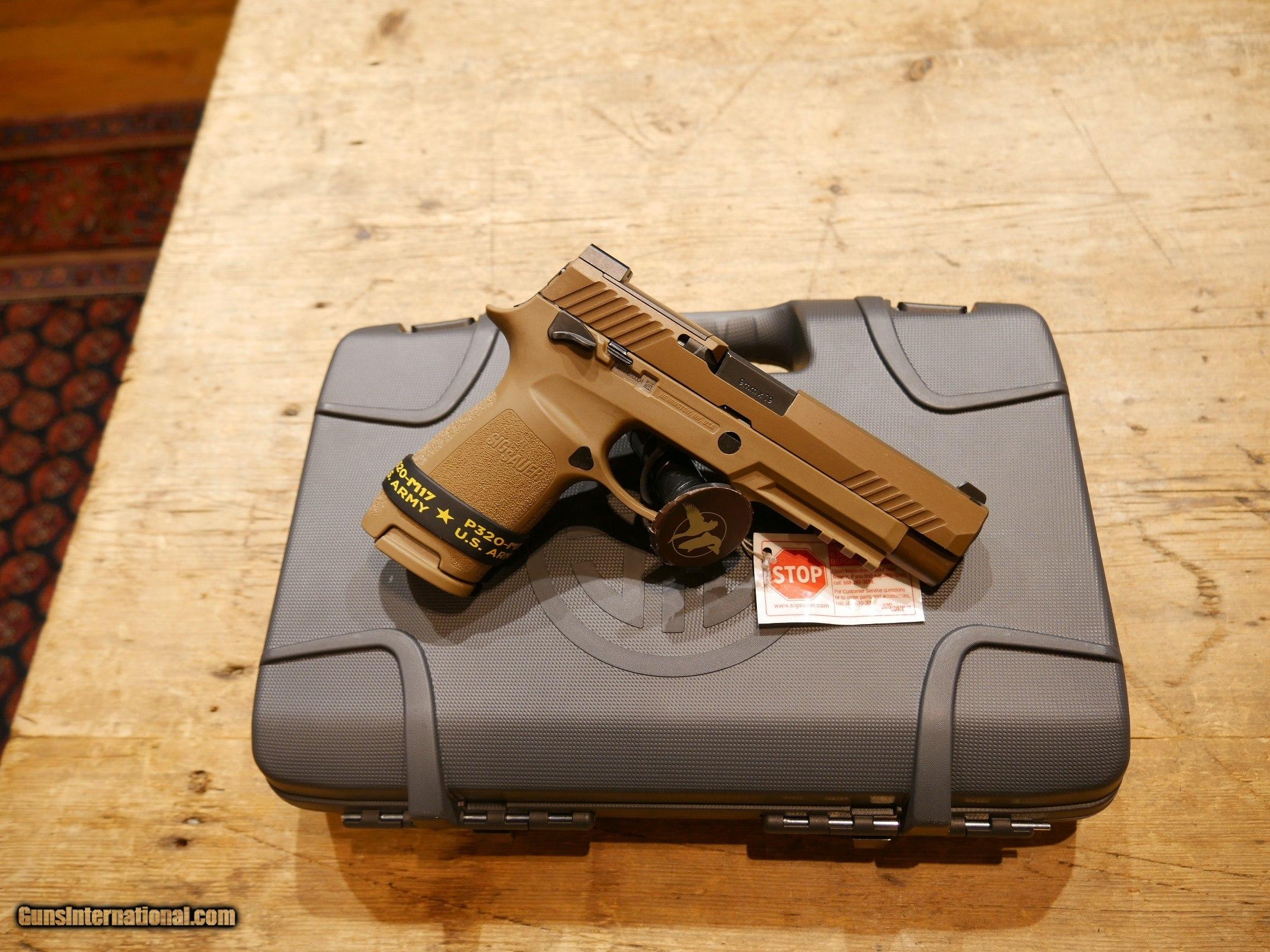 Sig Sauer P320 M17 9mm 320f 9 M17 Ms