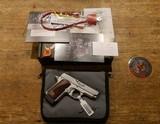 Kimber Micro9 Stainless 9mm Luger NIB