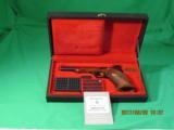 Browning Medalist Gold Line Pistol