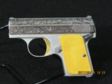 Browning Baby .25 ACP Pistol Engraved