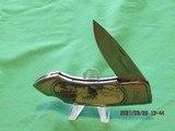 Browning Scrimshaw Folder Knife