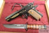 Cased Browning 1911-22 Commemorative with Knife