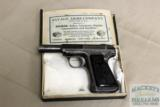 Savage 1917 32 ACP pistol, with box