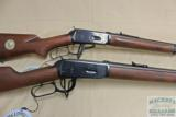 Winchester NRA Centennial Musket and 1894 LAR 30-30 set with boxes and papers - 7 of 16